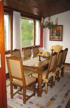 Table salle à manger valaisanne en chêne massif + 10 chaises - x_Tische