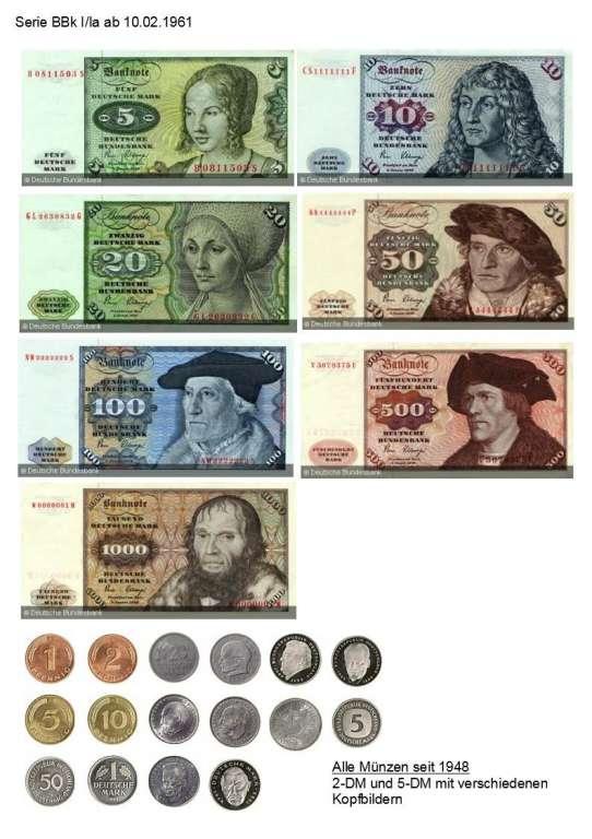 Kaufe Deutsche Mark Münzen Und Noten Europäische Münzen