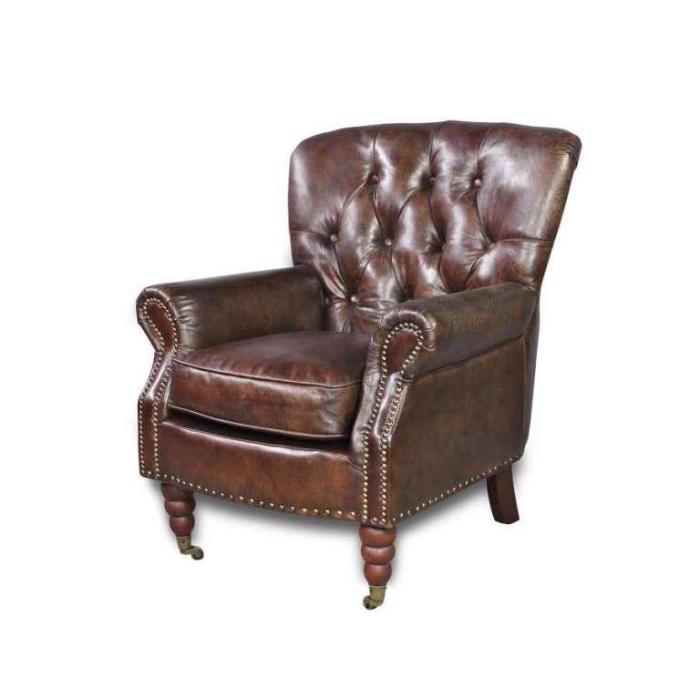 canap chesterfield cuir vintage 40 salon. Black Bedroom Furniture Sets. Home Design Ideas