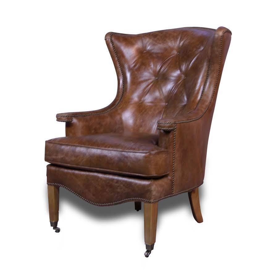 Canap chesterfield cuir vintage 40 salon for Salon chesterfield cuir
