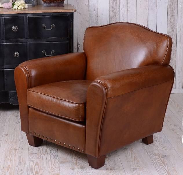 fauteuil club moustache cuir fauteuils divans. Black Bedroom Furniture Sets. Home Design Ideas
