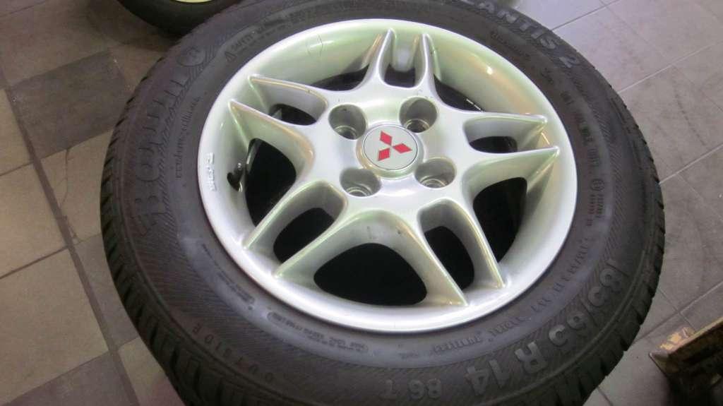 jante mitsubishi 5,5x14 et44 avec ou sans les pneus - felgen