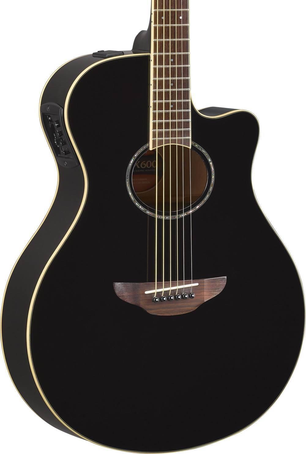 magnifique guitare yamaha apx 600 folk. Black Bedroom Furniture Sets. Home Design Ideas