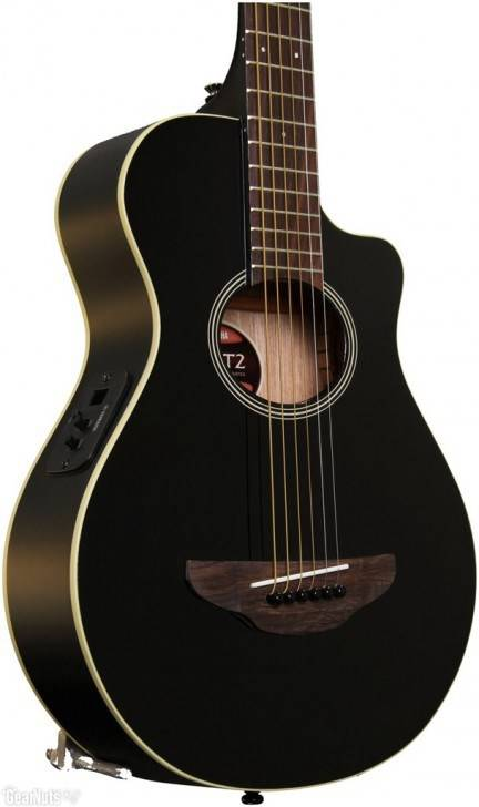 mini guitare folk yamaha apx lectro acoustique folk. Black Bedroom Furniture Sets. Home Design Ideas