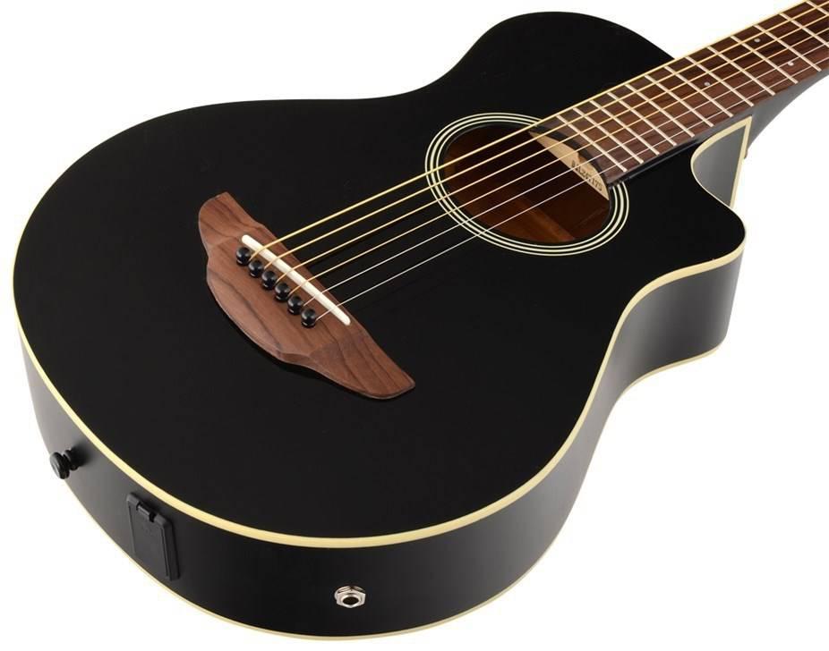 mini guitare folk yamaha apx lectro acoustique folk. Black Bedroom Furniture Sets. Home Design Ideas
