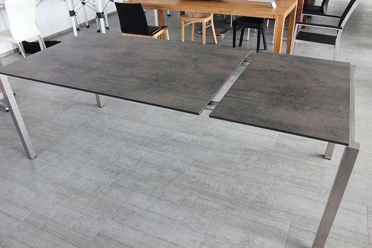 Gardeko table à rallonge HPL 95x150 table jardin table HPL - Gartentisch