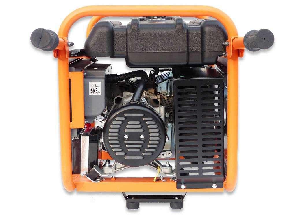 miete stromerzeuger stromgenerator mit 14ps & 7.3kva - générateurs