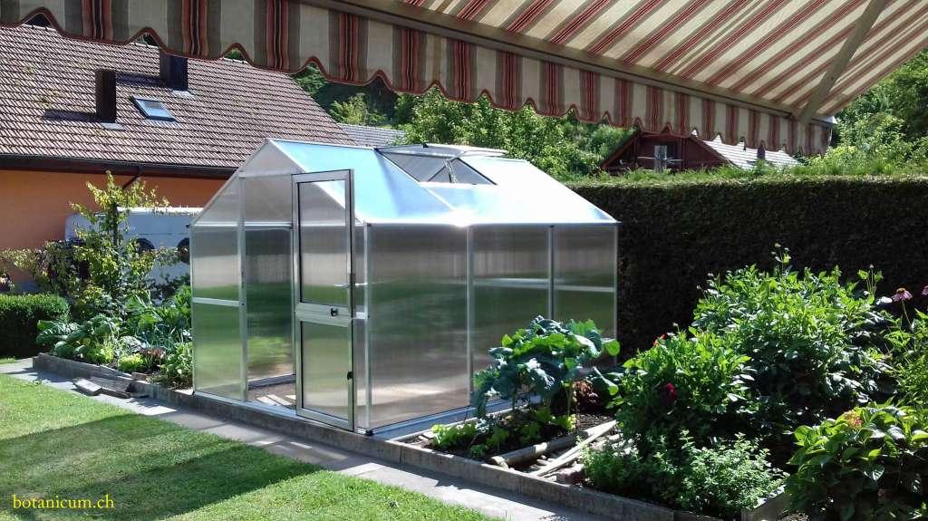 Gewachshaus 7 5 M2 Mit Doppelstegplatten 10 Mm Gewachs Gartenhauser