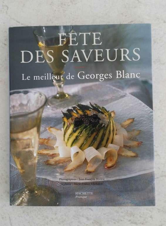 """Résultat de recherche d'images pour """"livre de cuisine Georges Blanc"""""""