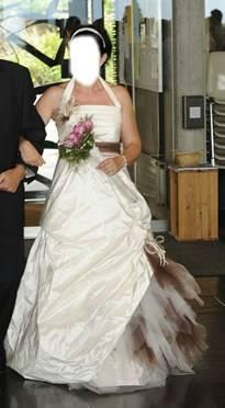a vendre robe de mari e hochzeit