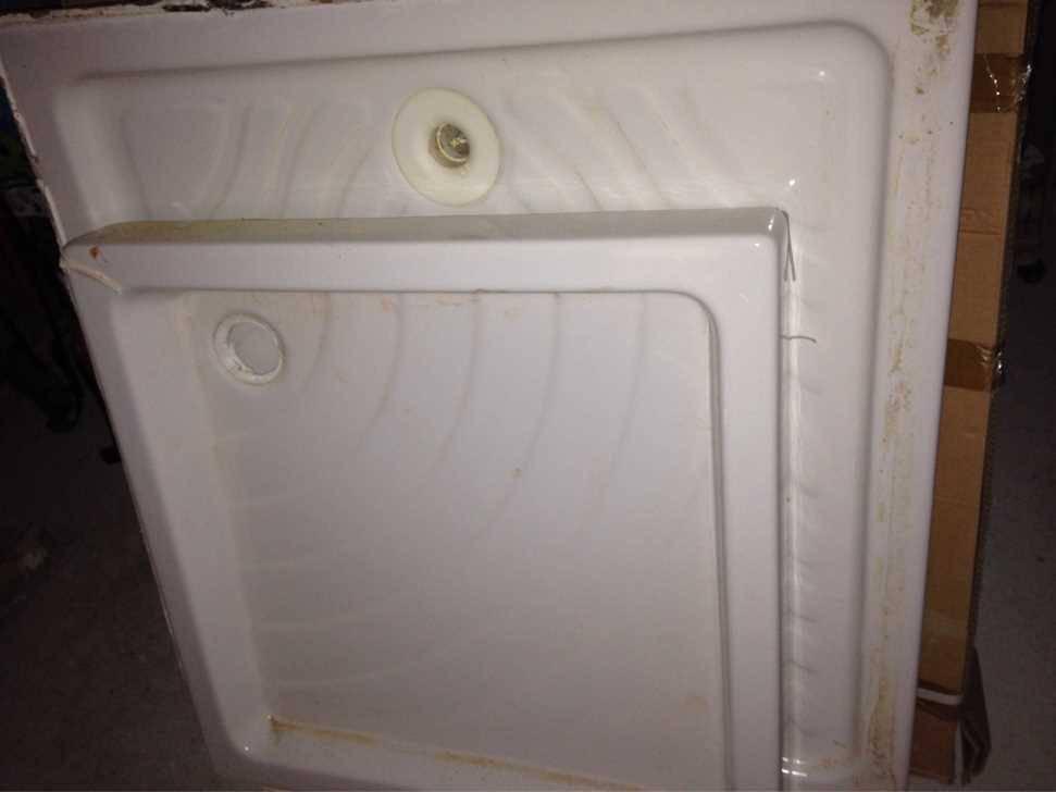 bac a douche lavabo porte de douche 120 neuve installations sanitaires. Black Bedroom Furniture Sets. Home Design Ideas