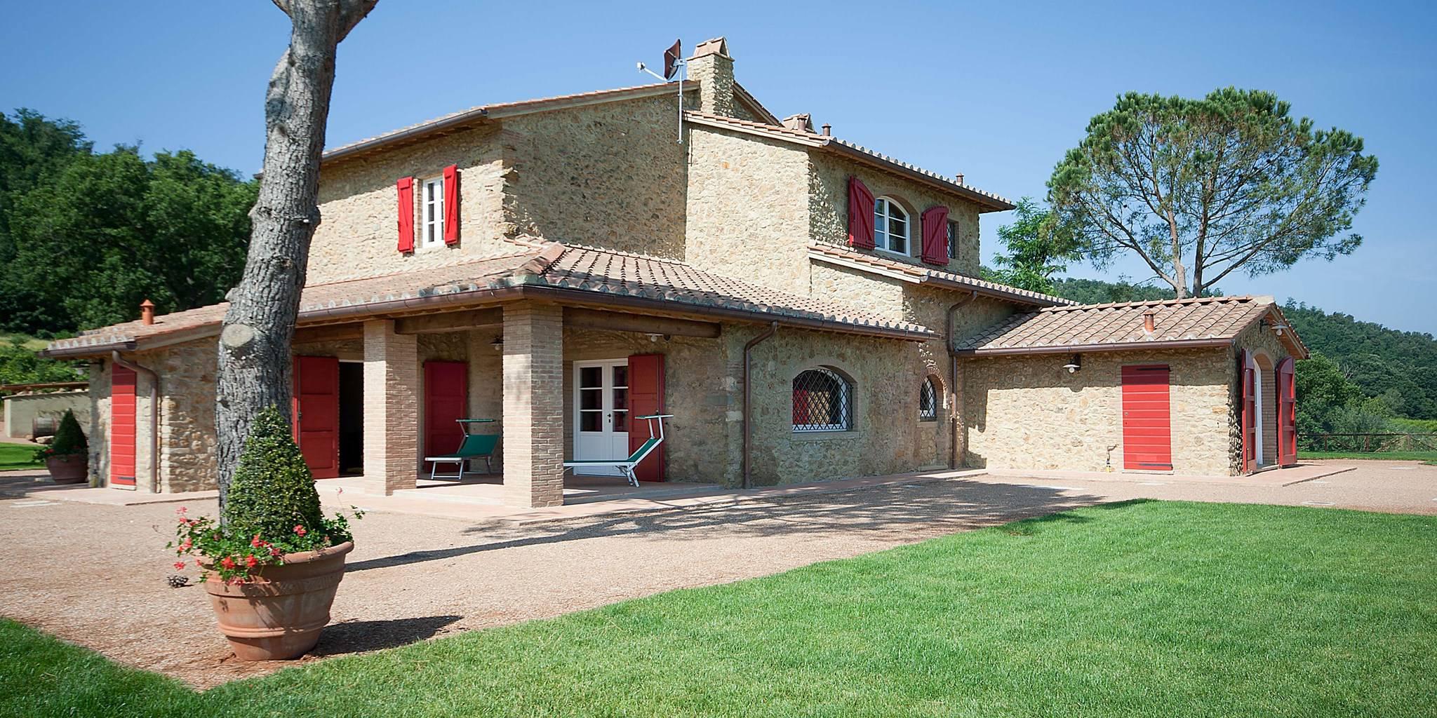 Toscane mer fantastique maison immence piscine italie for Annuler offre achat maison