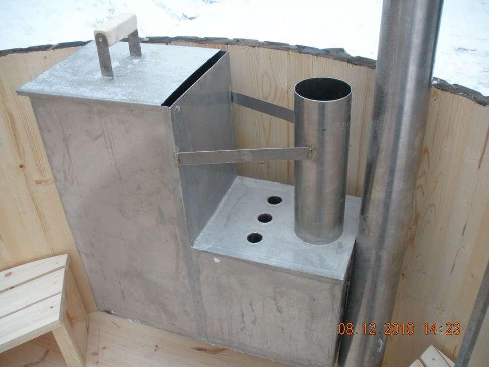 bain nordique traditionnel pour 4 personnes jacuzzis bains remous. Black Bedroom Furniture Sets. Home Design Ideas