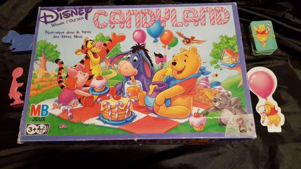 Jeu Candyland dès 3 ans, avec Winnie l'ourson et ses amis