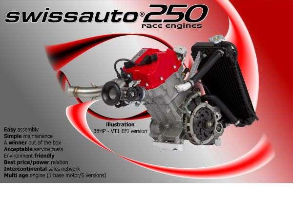 moteur swissauto sa250 injection