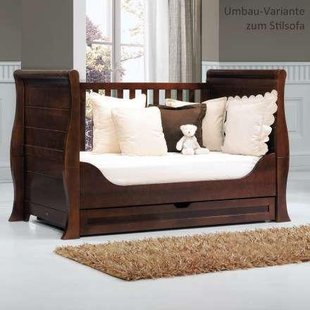 luxus kinderbett von trama umbaubar zum vintage sofa neu kinder reisebetten. Black Bedroom Furniture Sets. Home Design Ideas
