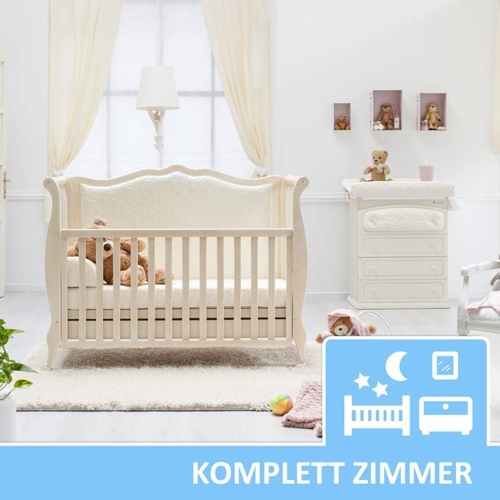 kinderzimmer komplett set rinascimento antikwei neu 5teilig kinderzimmer komplett. Black Bedroom Furniture Sets. Home Design Ideas