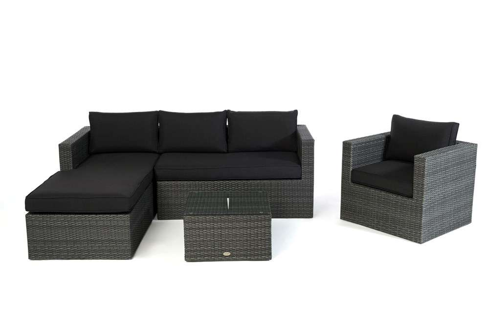 rattan gartenlounge rattanm bel lounge kissen polster. Black Bedroom Furniture Sets. Home Design Ideas