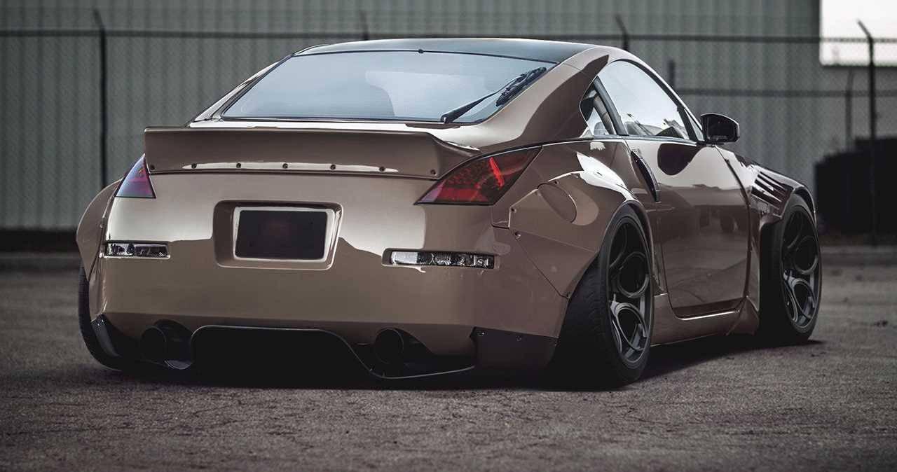 Nissan 350Z Rocket Bunny Style Body Kit / Liberty Walk ...