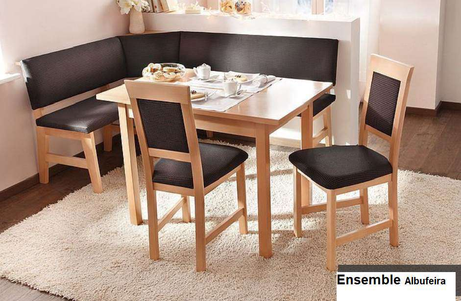 Table De Cuisine Avec Banc D Angle Komplette Kuchen