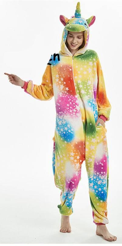 einhorn jumpsuit schlafanzug kost m onesie 25 varianten. Black Bedroom Furniture Sets. Home Design Ideas