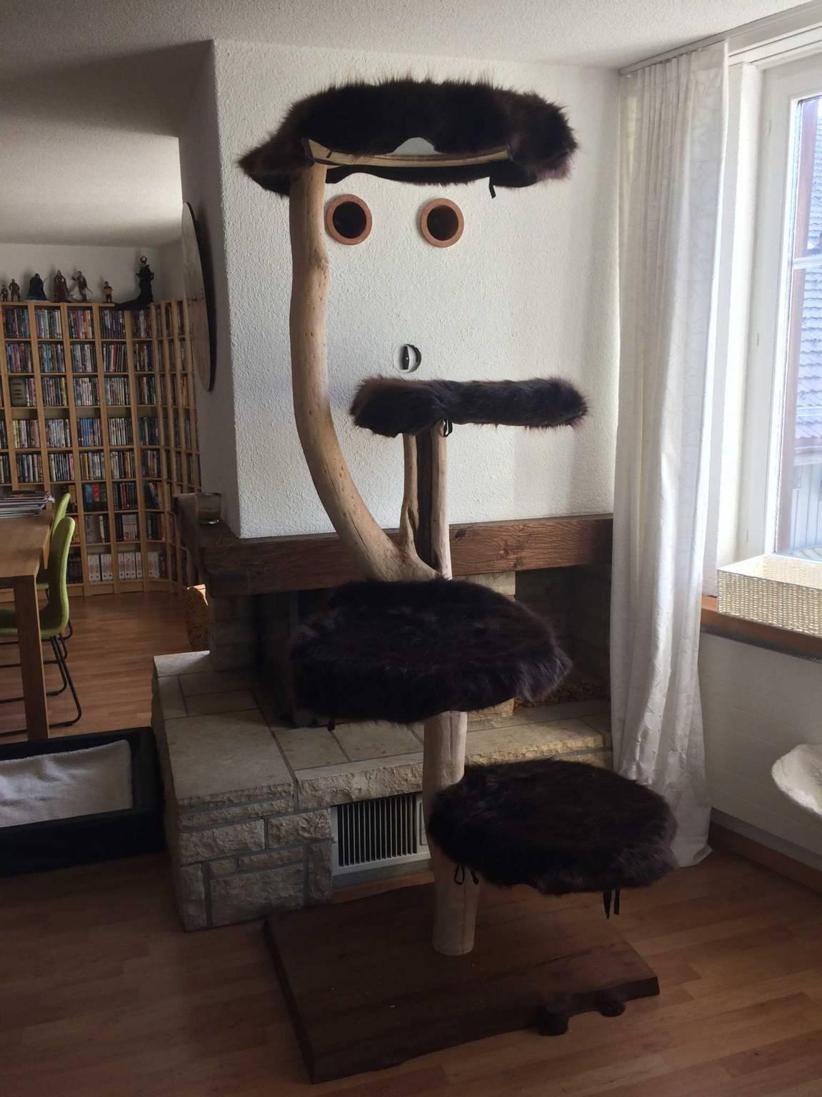 Naturstamm katzenb ume zu verkaufen kratzb ume m bel for Home mobel ch