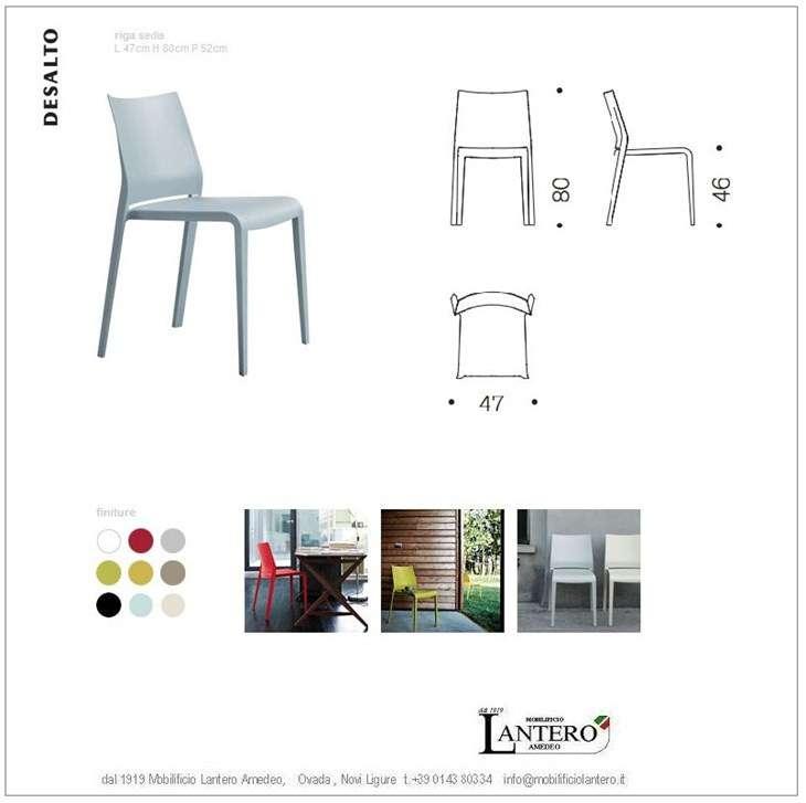 Desalto design ensemble de 4 chaises riga k chenm bel - Kuchentische und stuhle ...