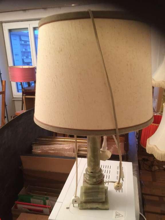 Lampe Avec Pieds En Pierre Lampes De Table