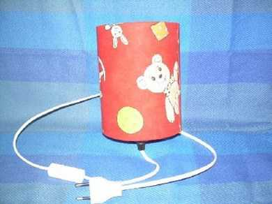 lampe de chevet pour enfants avec de jol lampes de table. Black Bedroom Furniture Sets. Home Design Ideas