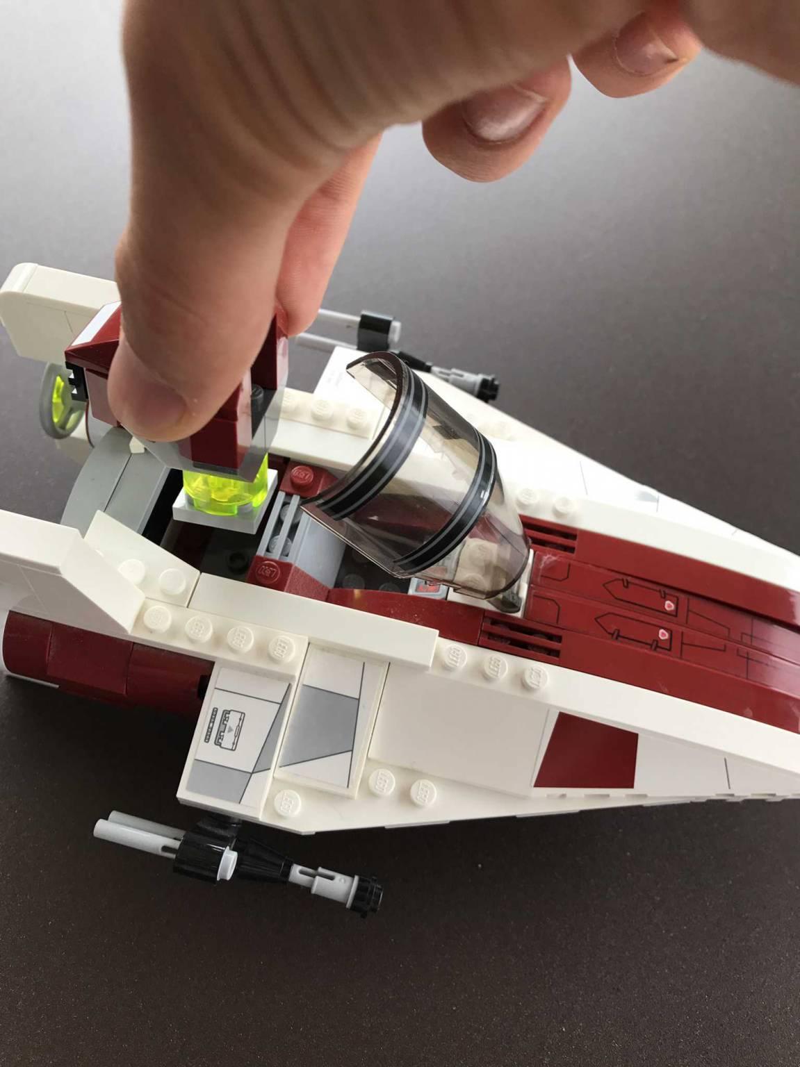 lego star wars vaisseau spatial promotion lego star wars. Black Bedroom Furniture Sets. Home Design Ideas