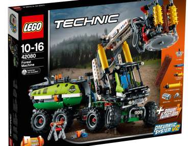 LEGO TECHNIC Forest machine power fonctions Building Set 42080 NEUF