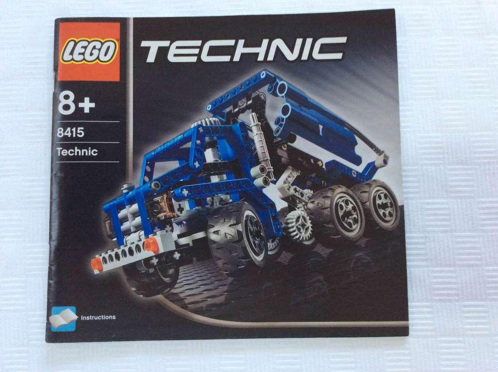 Lego Technic Kipper 8415 Mit Den Originalbauanleitungen Lego Technic