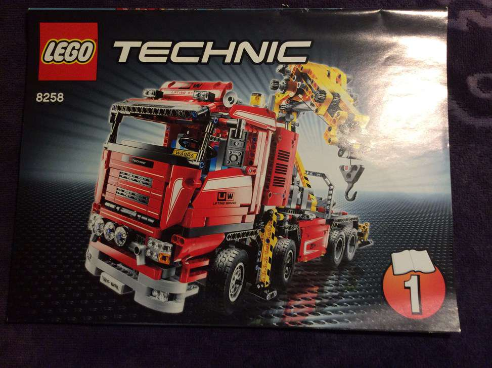 lego technic scania kranwagen 8258 mit allen bauanleitungen lego technic. Black Bedroom Furniture Sets. Home Design Ideas