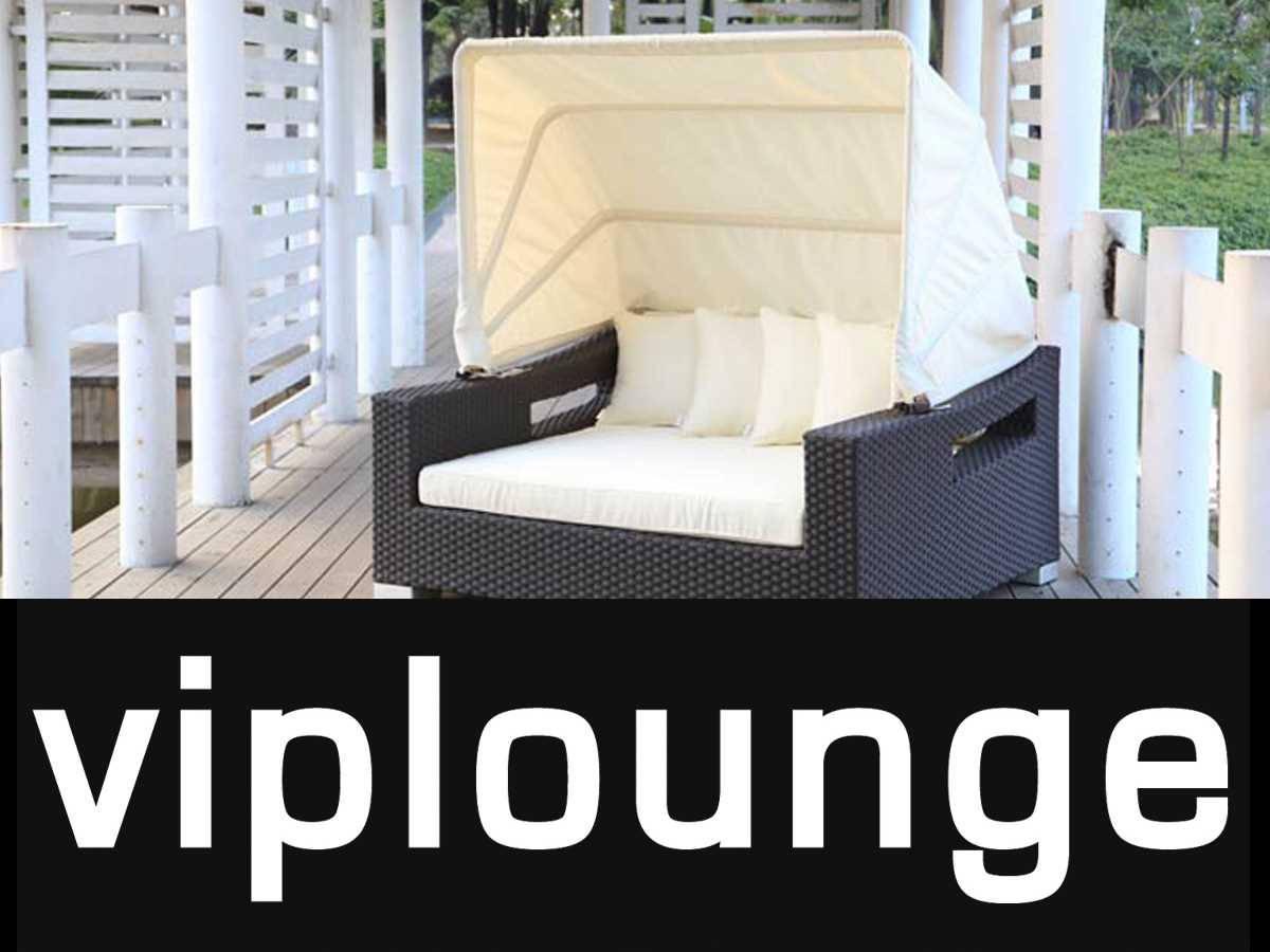 strandkorb f r den garten liegen. Black Bedroom Furniture Sets. Home Design Ideas