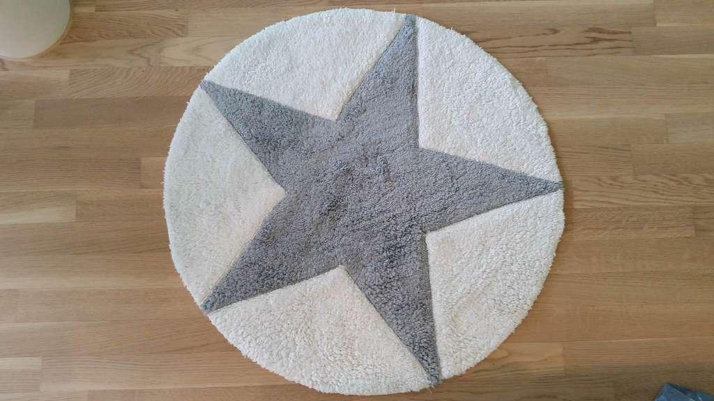 Badezimmerteppich Rund Durchmesser 80cm Star Linges De Bains