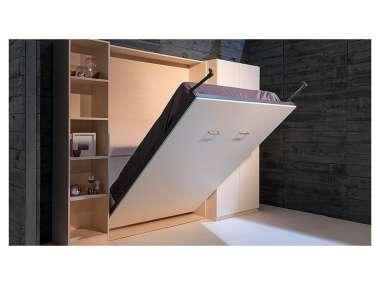 lit escamotable 140 x 200 cm