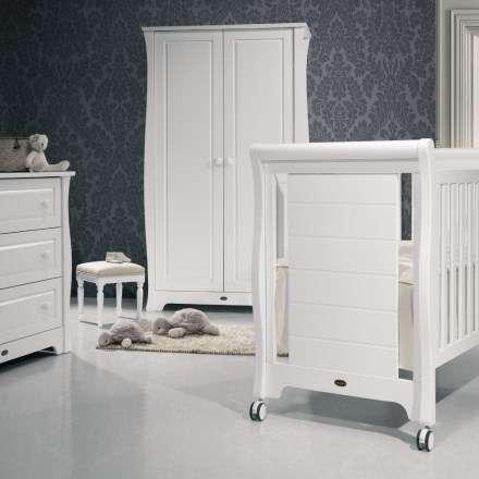 romantisches kinderbett im modernen landhausstil neu. Black Bedroom Furniture Sets. Home Design Ideas