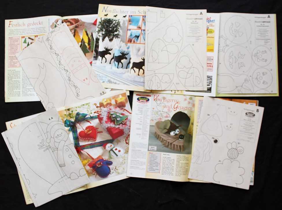 Lot de 7 livres magazines bricolage en allemand for Magazine bricolage decoration