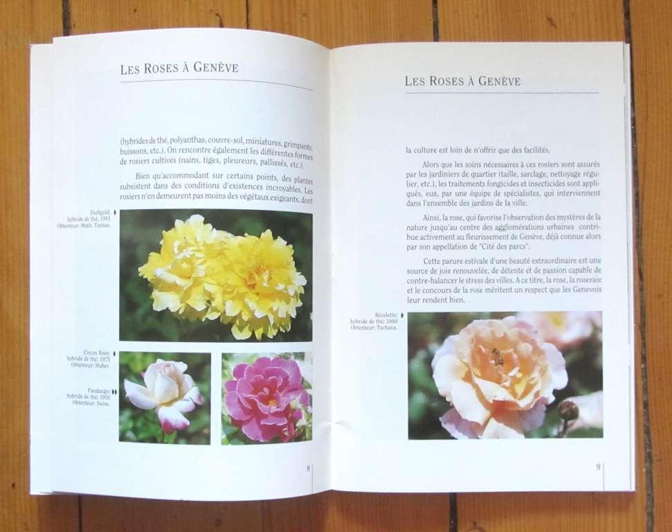 collectif les roses gen ve livres de jardinage. Black Bedroom Furniture Sets. Home Design Ideas