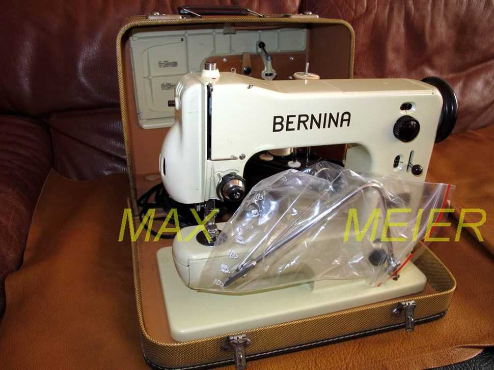 Machine coudre bernina classe 121 de 1960 machines for Machine a coudre 4 fils 121