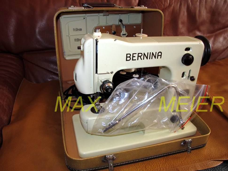 machine coudre bernina classe 121 de 1960 machines