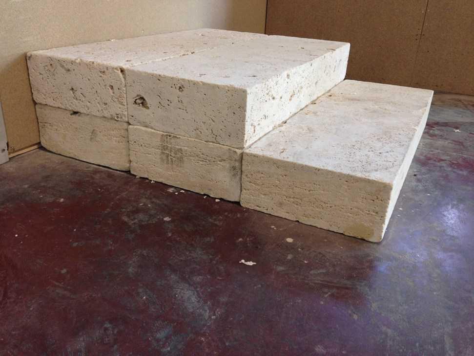 Marche en pierre 100 x 35 x 15 cm - Matu00e9riaux de construction