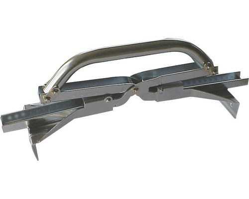 Porte plaque en acier galvanis pratique pour le pavage - Porte acier galvanise ...