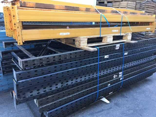 rack palettes de 3m de haut occasion mat riaux de construction. Black Bedroom Furniture Sets. Home Design Ideas