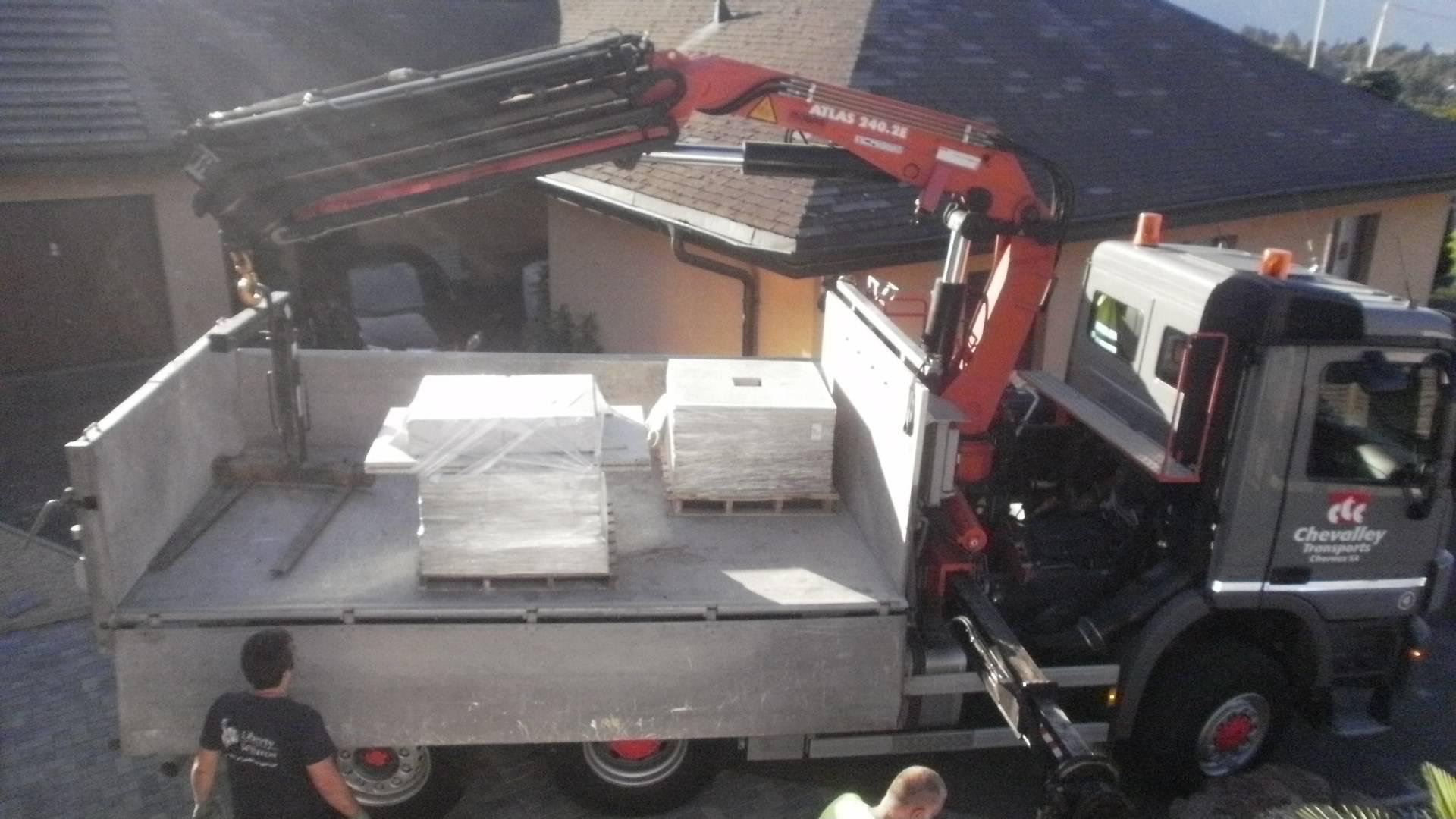 vente d 39 un lot de granit avec 50m2 mat riaux de construction. Black Bedroom Furniture Sets. Home Design Ideas