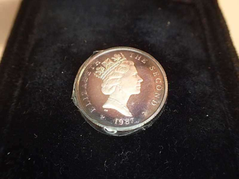 1987 Isle Of Man One Pound Monnaies Européennes