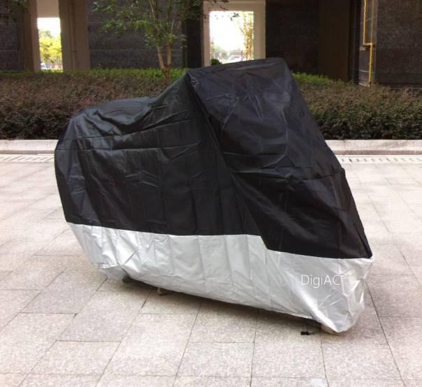 housse b che moto scooter pvc ventil e xxxl pour moto 2m30 moto cover. Black Bedroom Furniture Sets. Home Design Ideas