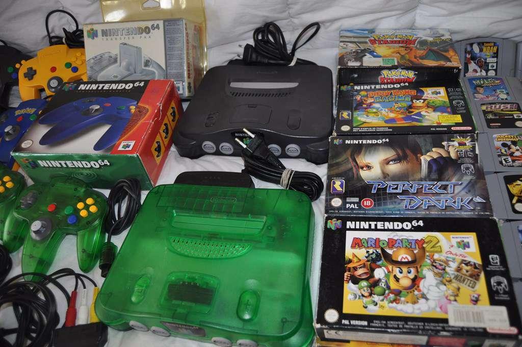 Choisir couleur console accexsoires n64 jeux nintendo 64 - Choisir une console de jeux ...