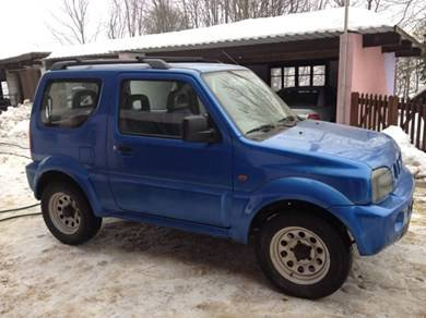 suzuki jimny 30km h 45km h 1999 100 39 000 km occasionen neuwagen. Black Bedroom Furniture Sets. Home Design Ideas