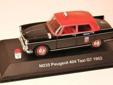 PEUGEOT 404 TAXI G7 1962 NOSTALGIE 1//43